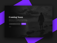 Coming Soon - Daily UI - #048