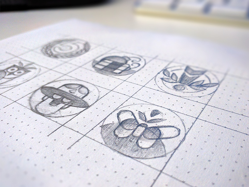 Drawing close up