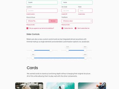 Shards  — A Free & Modern UI Kit based on Bootstrap 4 bootstrap styleguide ui kit freebie free kit ui