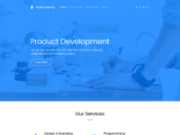 Shards   agency landing page