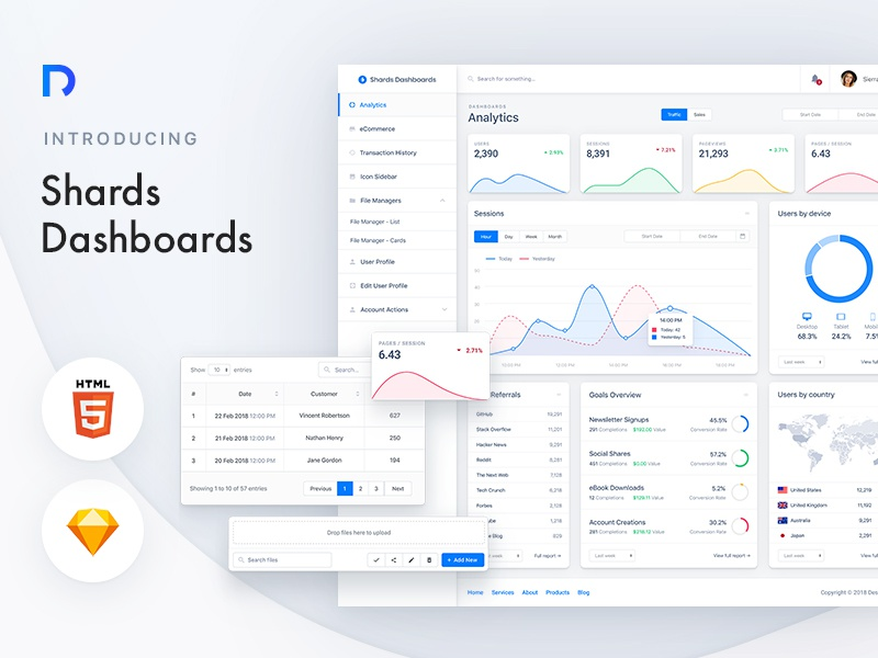 Shards dashboards dribbble preview 03 800 600