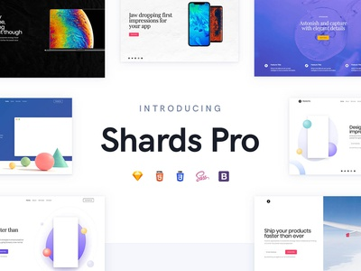 Shards Pro - A Premium Bootstrap 4 UI Toolkit