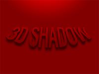 3D Shadow (PSD Freebie)