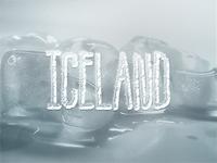 Iceland (10+ text styles PSD Freebie)