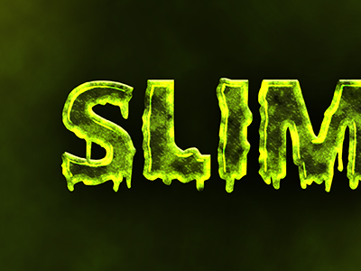 Slime photoshop text text effect text style photoshop style layer effects psd slime ooze mud green