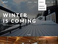 Gallart homepage full