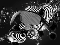 Siroko Tech animation cinema4d photoshop minimal retouch white black advertising 3d