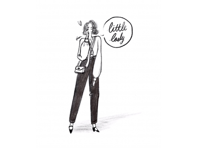 DAY32-a little lady👄👠