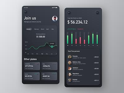 Crypto Exchange app ux black ui wallpapers crypto exchange wallet app wallet branding animation app colour app clean ui  ux design