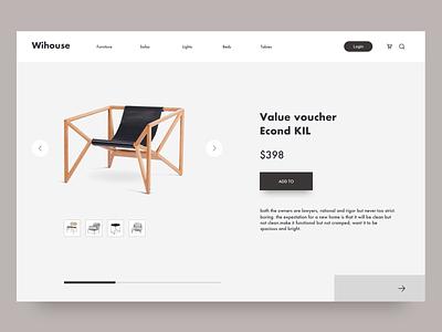 Shop furniture Web website shopping shop online bed safas furniture app designer furniture ui  ux web design banner design banner
