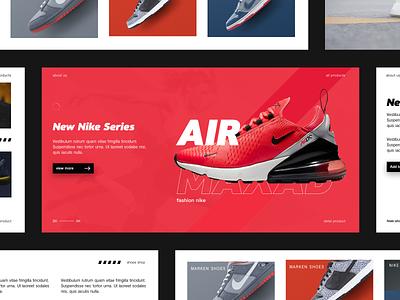 shoes shop web design nike shoes red shoes design shapes designer shoes app shopping shoes animation app black  white web ux clean app design
