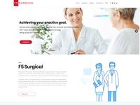 F5surgical.com Website Design