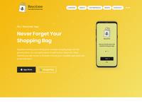 Website Landing page design for beyobee.com