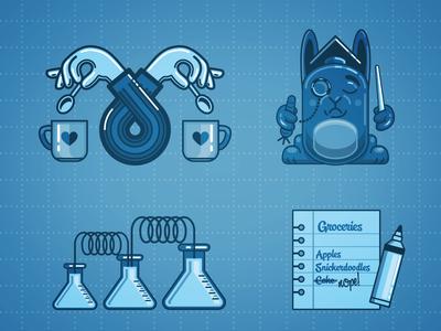 Agile Developer Infographic Elements Part I