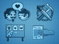 Agile Developer Infographic Elements Part II