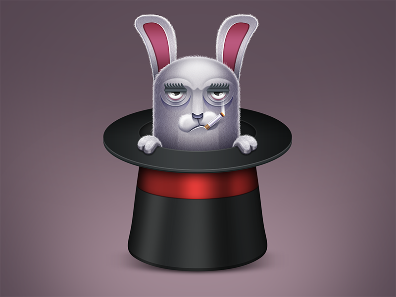Rabbit in the hat 2x