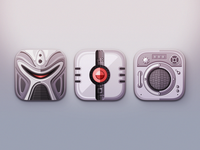 Battlestar Galactica Icons