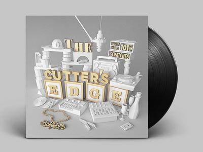 Cutter's Edge Vinyl Record Artwork