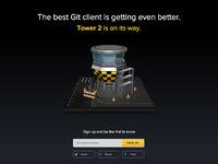 Tower2 teaser website