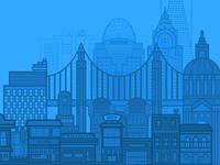 Trivantis City Illustration