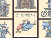 Fancy Animals on Neonmob