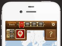 Diamond Jubilee Treasure Hunt Top UI