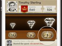 Diamond Jubilee Treasure Hunt ui details
