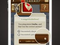 Diamond Jubilee Treasure Hunt Message ui details
