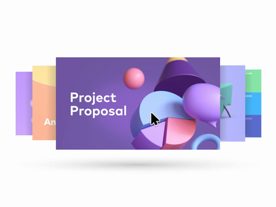 Pitch Limited Preview Beta! graphic design 3d characters after effects motion presentation templates loop animation illustration