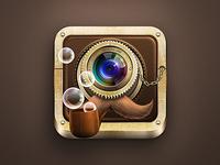 Vintachio Camera App Icon
