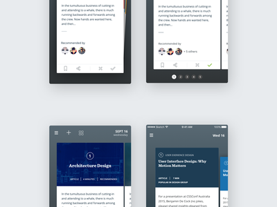 Degreed Mobile App mobile search profile home app android ios iphone learn education