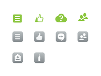icons for new social service