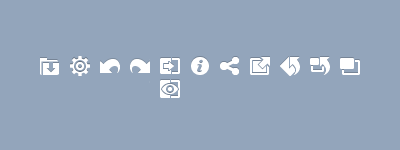 Fix Picture icons toolbar