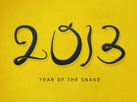 2013 | Year of the Snake