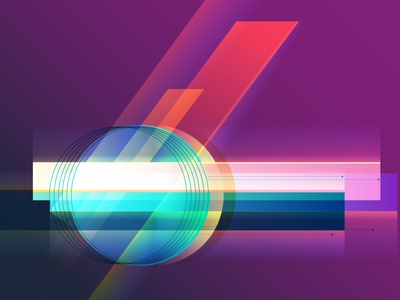 So future tech gradients light quickie exploration playing future