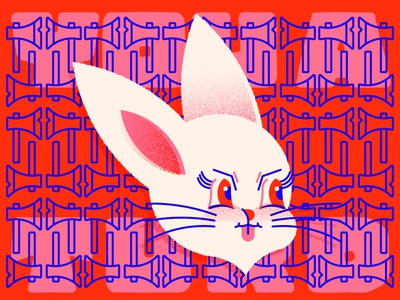 Current mood nails as hard soft cute illustration hatchet bun floof fluff bunny