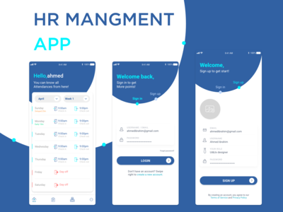 H.r Mangement Application
