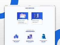 You Online Landing page -Service page