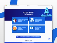 You Online Landing page-Hosting Package
