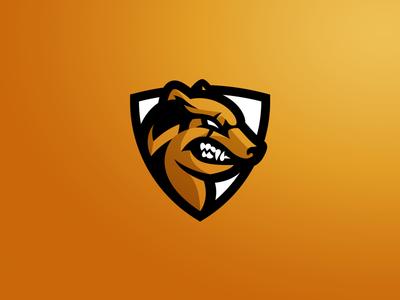 Bardufoss Wolverines Mascot Logo