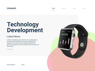 Landing page animation concept gfxmob dailyui userexperience user interface design userinterface landing design landing page landing website design webdesign web design app animated xd ux ui  ux ui animation adobe xd