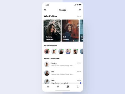 Chat App Animation