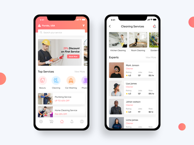 On Demand Service App service top services top services cleaning service cleaning on demand app service app clean branding uiux mobile ios app ux ui design icon