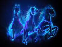 Gaz-horses