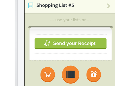 Smart Shopping List app