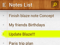 Blaze Notes
