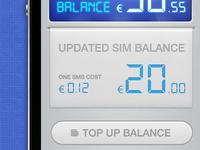 Balance receipt