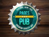 Pages PUB icon Rebound