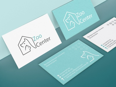 Corporate identity design for a pet store branding graphic design vector design