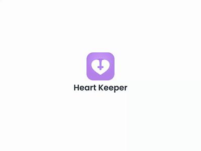 Heart Keeper mobile app design ux ui animation